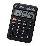 Калькулятор Citizen LC-110N черный 8-разр.