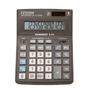 Калькулятор Citizen Correct D-314 черный 14-разр.