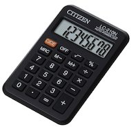 Калькулятор Citizen LC-210N черный 8-разр.