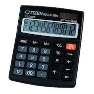 Калькулятор Citizen SDC-812BN черный 12-разр.