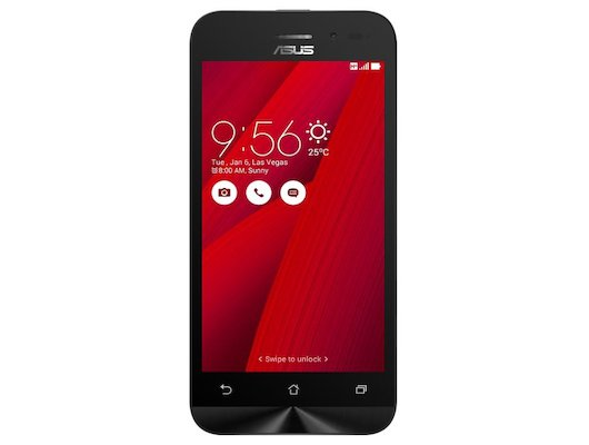 Смартфон ASUS ZB452KG Zenfone Go 8Gb red