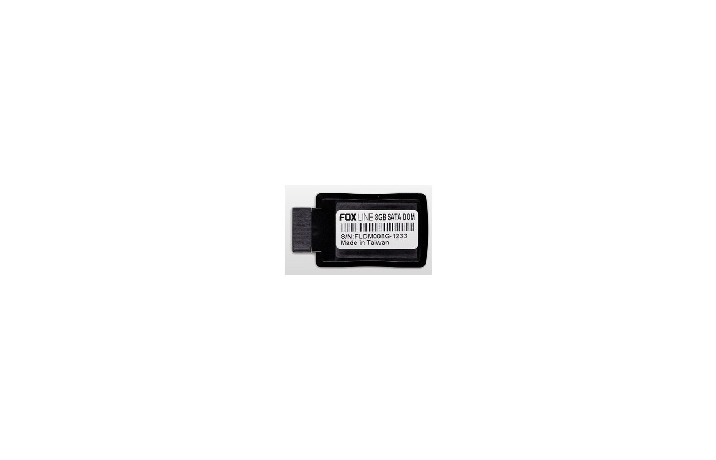 SSD жесткий диск Foxline 8GB Module 7-pin SATA, MLC FLDM008G