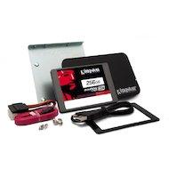 Фото SSD жесткий диск Kingston 256GB SSDNow SKC400S3B7A/256G SSD SATA 3 2.5 (7mm) Upgrade Bundle Kit