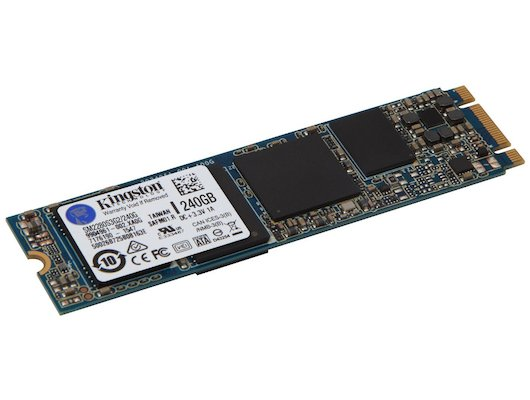 SSD жесткий диск Kingston 240GB SSDNow M.2 SATA 6Gbps SM2280S3G2/240G (Single Side)