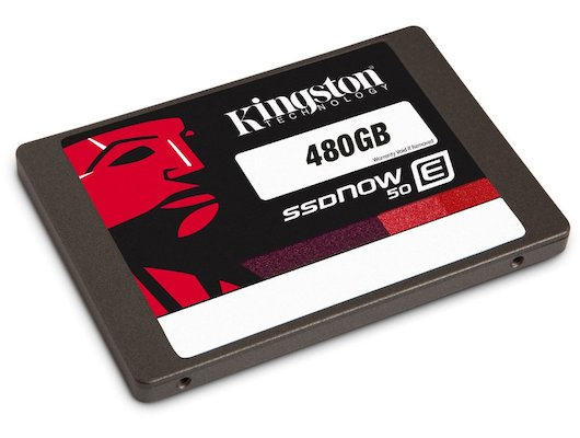 SSD жесткий диск Kingston 480GB SSDNow SE50S37/480G SATA 3 2.5 (7mm height)