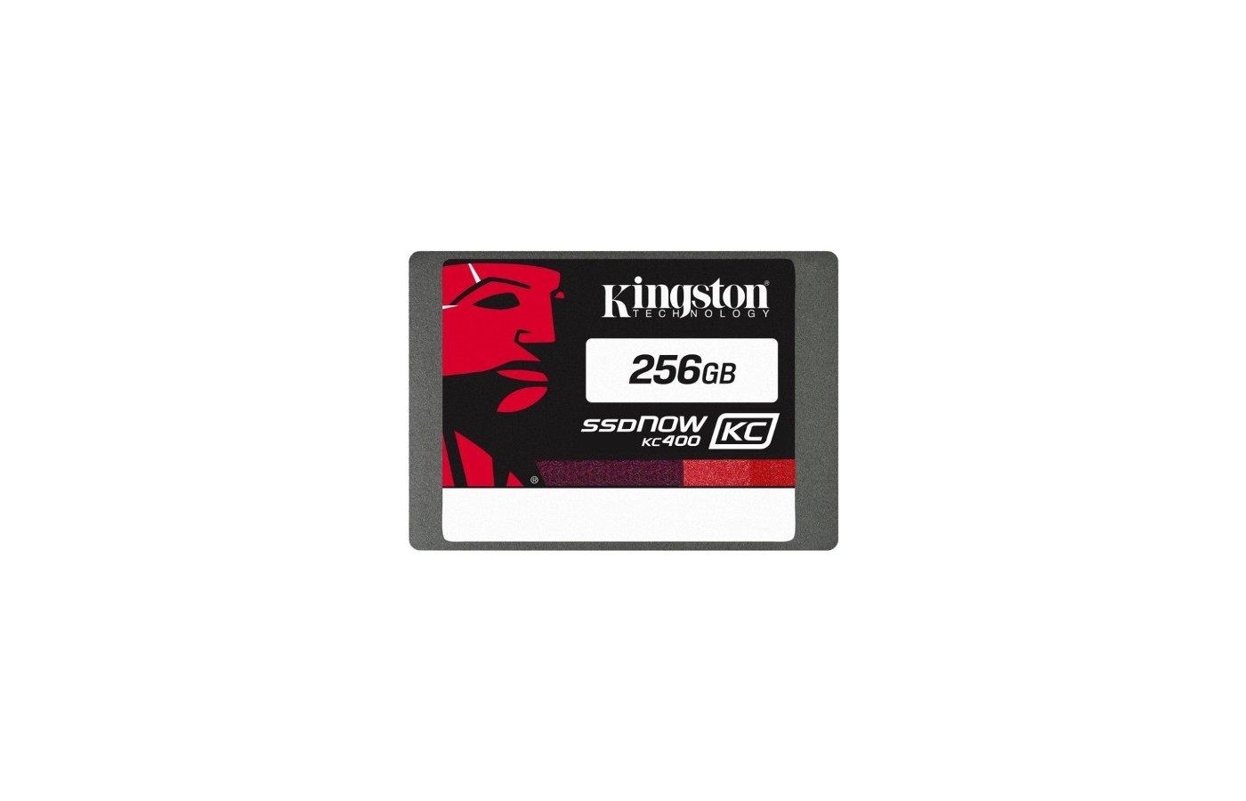 SSD жесткий диск Kingston 256GB SSDNow SKC400S3B7A/256G SSD SATA 3 2.5 (7mm) Upgrade Bundle Kit