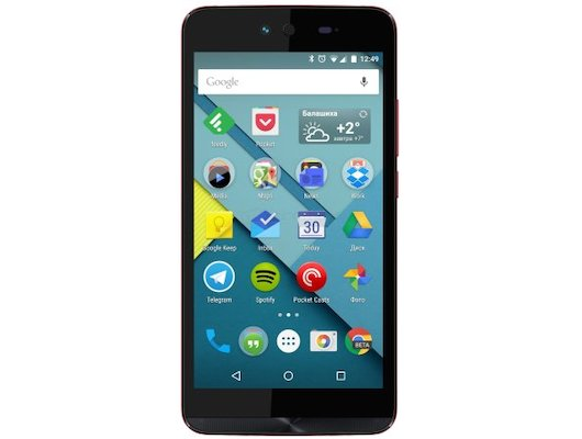 Смартфон Micromax Q338 Canvas Magnus 2 Red
