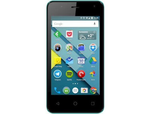 Смартфон Micromax Q401 Canvas Pace mini Green