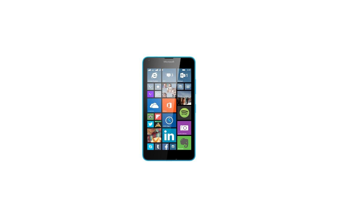 Смартфон Microsoft Lumia 640 LTE Cyan