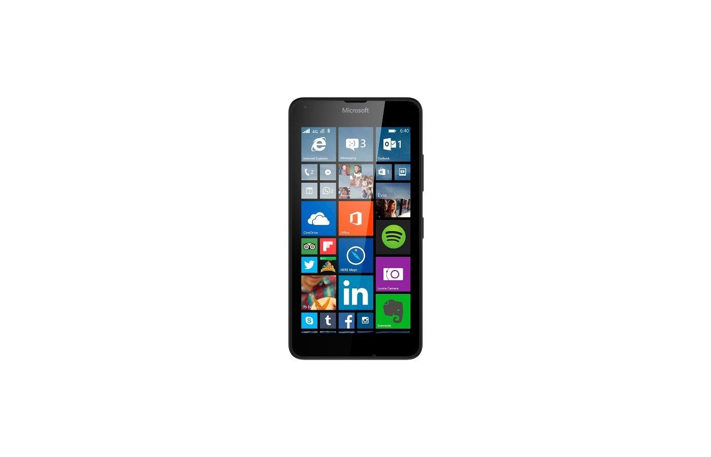 Смартфон Microsoft Lumia 640 LTE SS Black