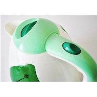 Фото Чайник электрический  Василиса Т1-1500 белый/зеленый