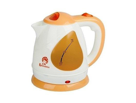 Чайник электрический  Василиса Т1-1500 белый/персиковый