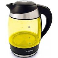 Чайник электрический  StarWind SKG 2215 желтый/черный