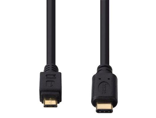 Кабель Hama USB Type-C - microUSB (0.75м.)