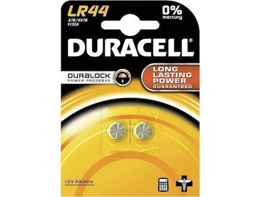 Батарейка Duracell LR44-2BL 2шт.