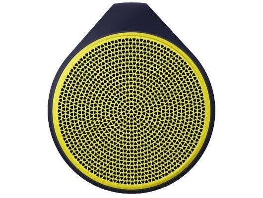 Колонка Logitech X100 желтая