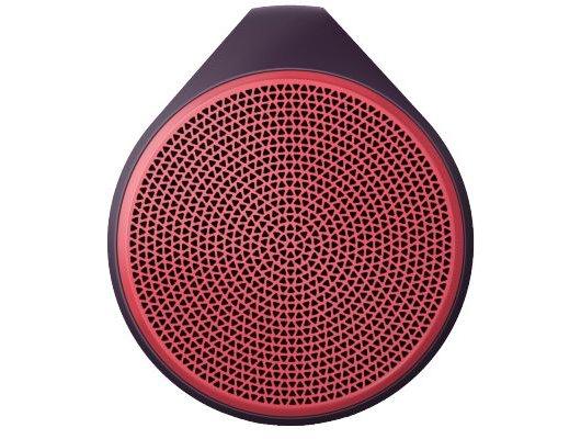 Колонка Logitech X100 красная