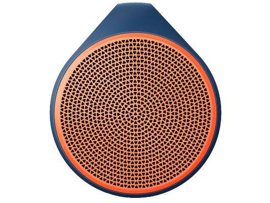 Колонка Logitech X100 оранжевая