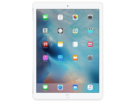 Чехол для планшетного ПК Apple iPad Pro 12.9 Silicone Case - White (MK0E2ZM/A)