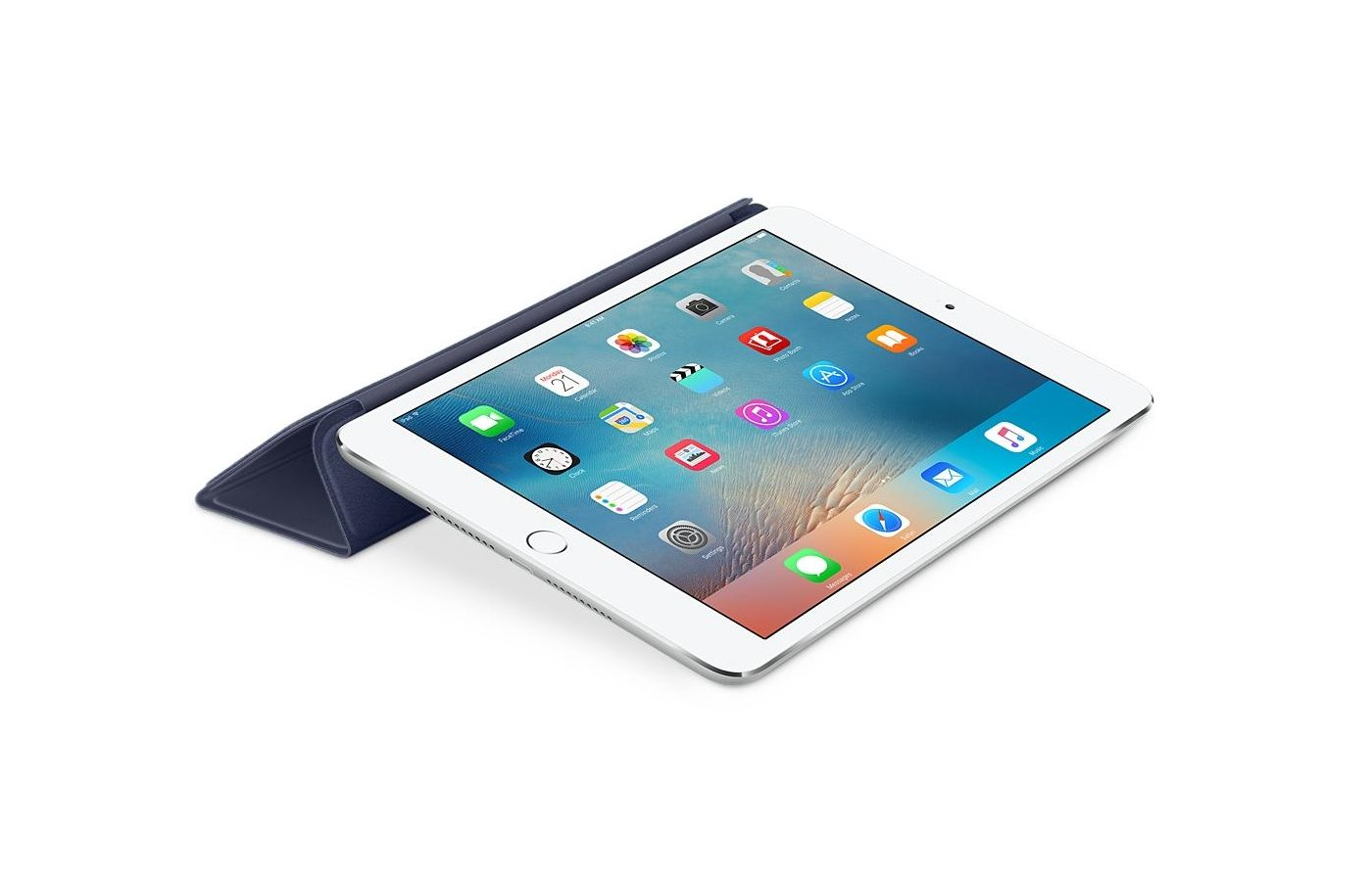 Чехол для планшетного ПК Apple iPad mini 4 Smart Cover - Midnight Blue (MKLX2ZM/A)