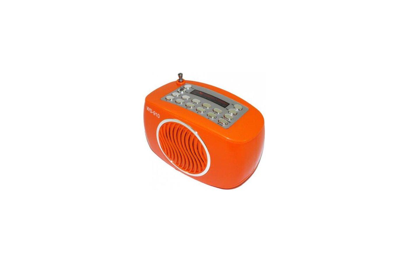 Колонка WSTER WS-910 оранжевая