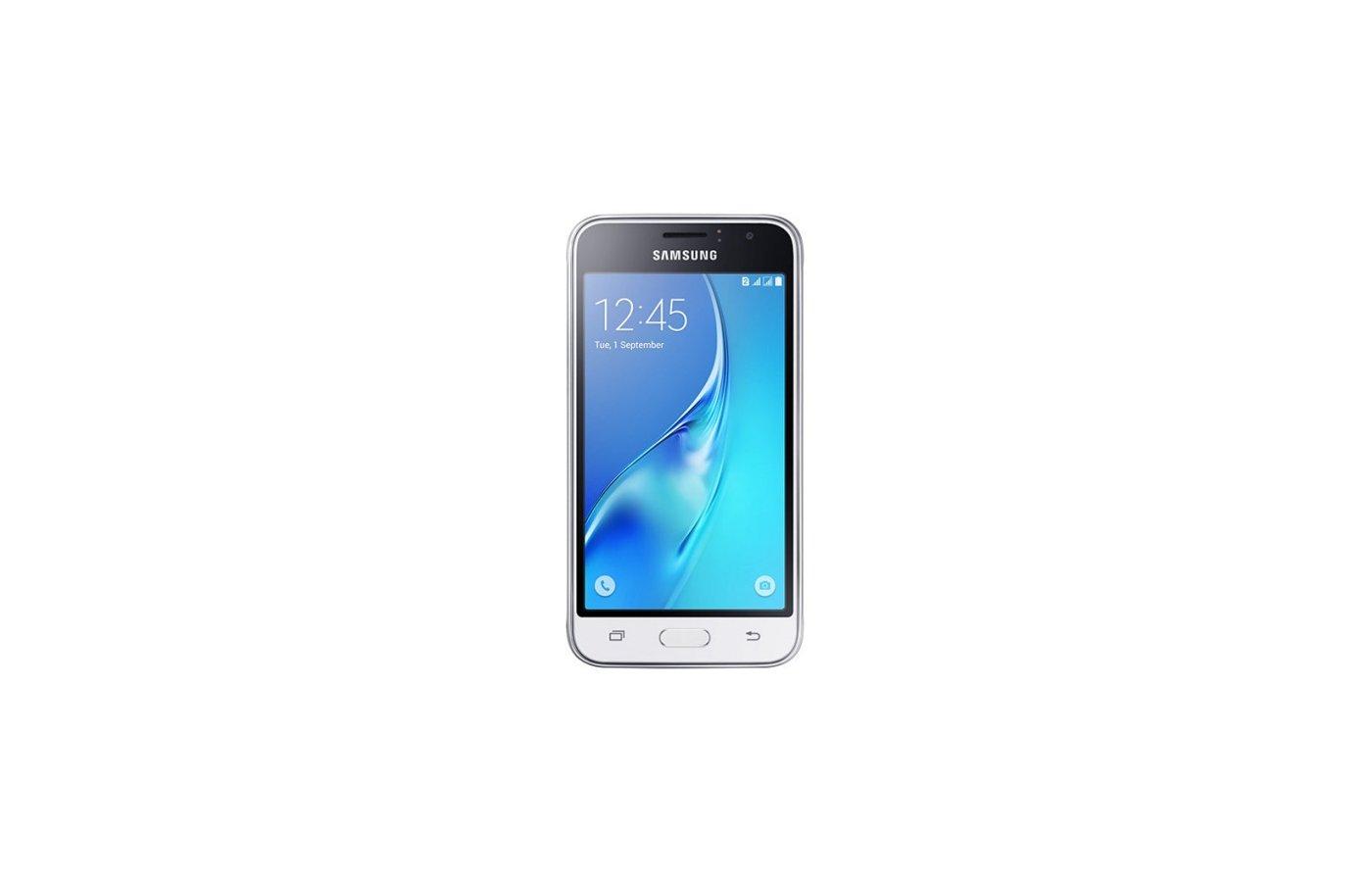 Смартфон Samsung Galaxy J1 (2016) SM-J120F белый