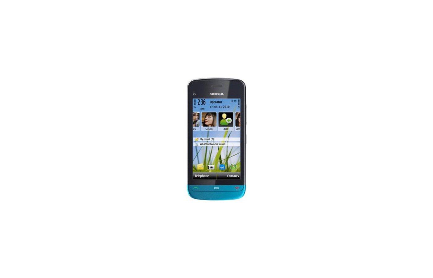 Смартфон NOKIA С5-03 PETROL BLUE