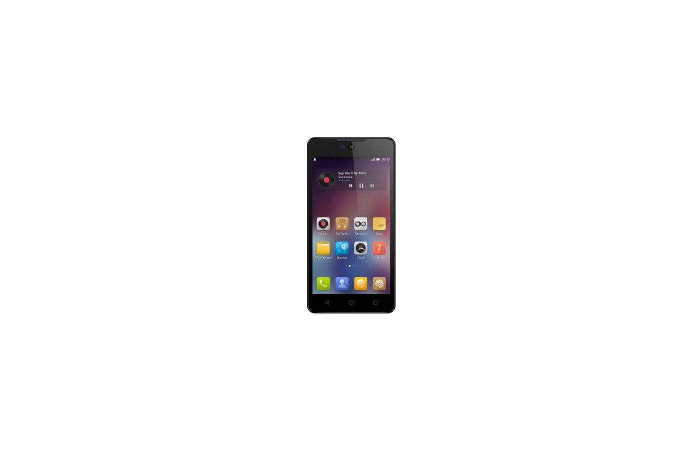 Смартфон Micromax Q340 Canvas Selfie 2 Black