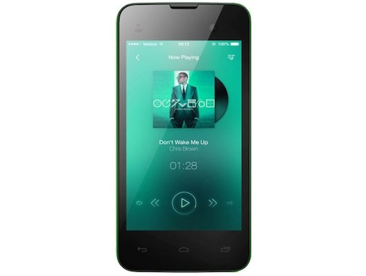 Смартфон Micromax D306 BOLT Green