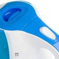 Фото Чайник электрический  DELTA DL-1327 белый/голубой