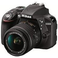 Фотоаппарат зеркальный Nikon D3300 18-55 II AF-P black