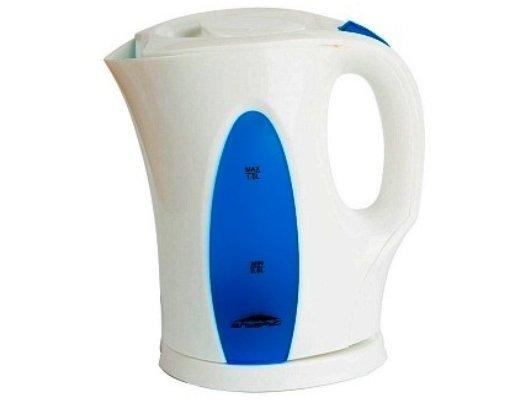 Чайник электрический  DELTA ЭЛЬБРУС-3 белый/синий