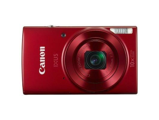 Фотоаппарат компактный CANON IXUS 180 красный