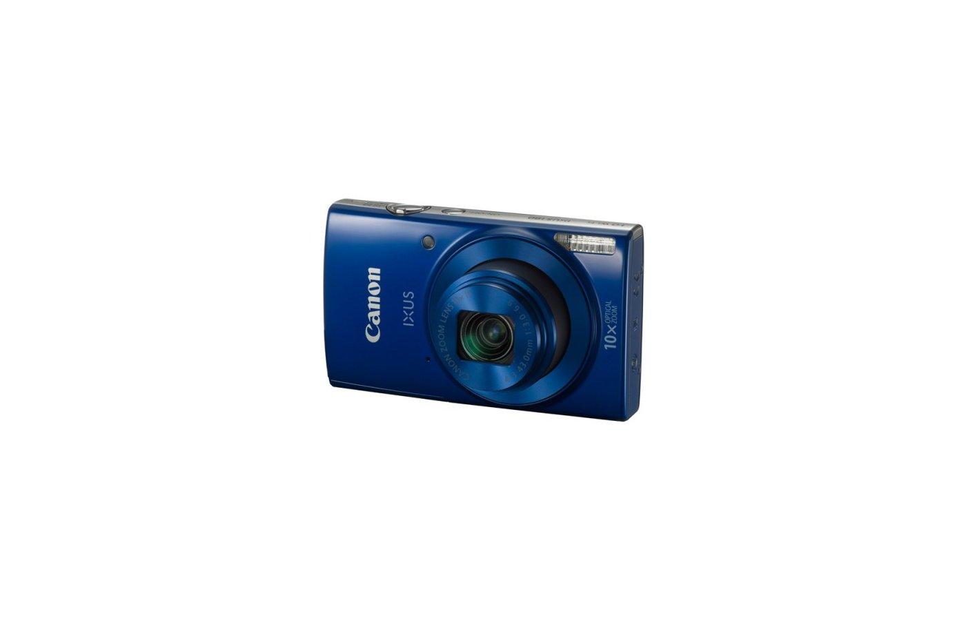 Фотоаппарат компактный CANON IXUS 180 синий