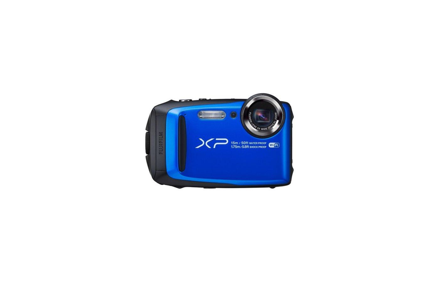 Фотоаппарат компактный FujiFilm FinePix XP90 Blue