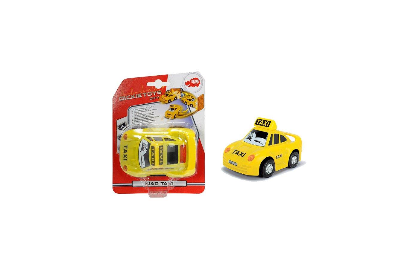 Машинка DICKIE 3341010 Такси 12см