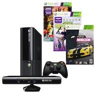 Фото Xbox 360 4ГБ + Kinect + 500ГБ жесткий диск + Kinect Adventures Forza Horizon и Kinect Sports