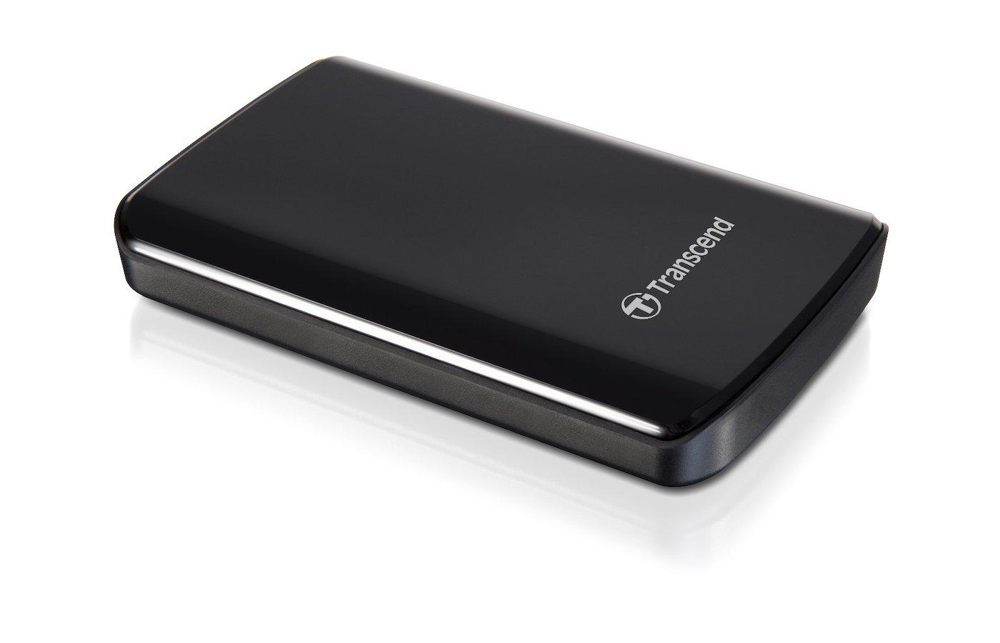 Внешний жесткий диск Transcend (TS500GSJ25A3K) 500GB StoreJet 25A Series 2.5 USB 2.0/3.0