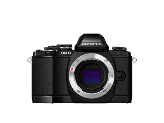 Фотоаппарат со сменной оптикой OLYMPUS OM-D E-M10 Body black