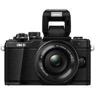 Фото Фотоаппарат со сменной оптикой OLYMPUS OM-D E-M10 Kit ( E-M10 Body black + EZ-M1442EZ black )