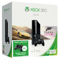 Xbox 360 500 ГБ + Forza Horizon 2 + проводной геймпад