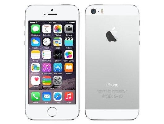 Смартфон Apple iPhone 5s 16Gb silver восстановленный FF353RU/A