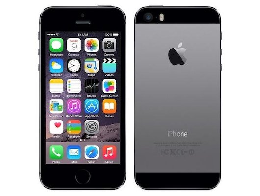 Смартфон Apple iPhone 5s 16Gb space grey восстановленный FF352RU/A