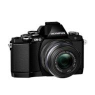 Фото Фотоаппарат со сменной оптикой OLYMPUS OM-D E-M10 Mark II Kit ( E-M10 Body black + EZ-M1442 II R black)