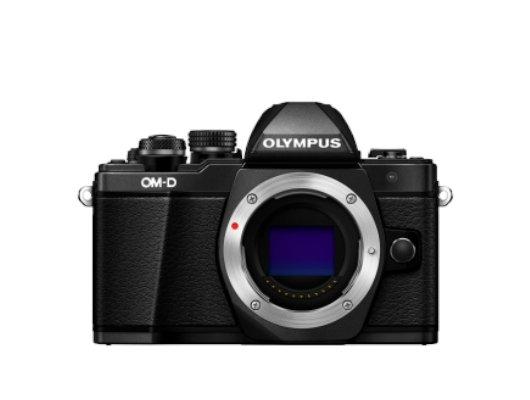 Фотоаппарат со сменной оптикой OLYMPUS OM-D E-M10 Mark II Body black