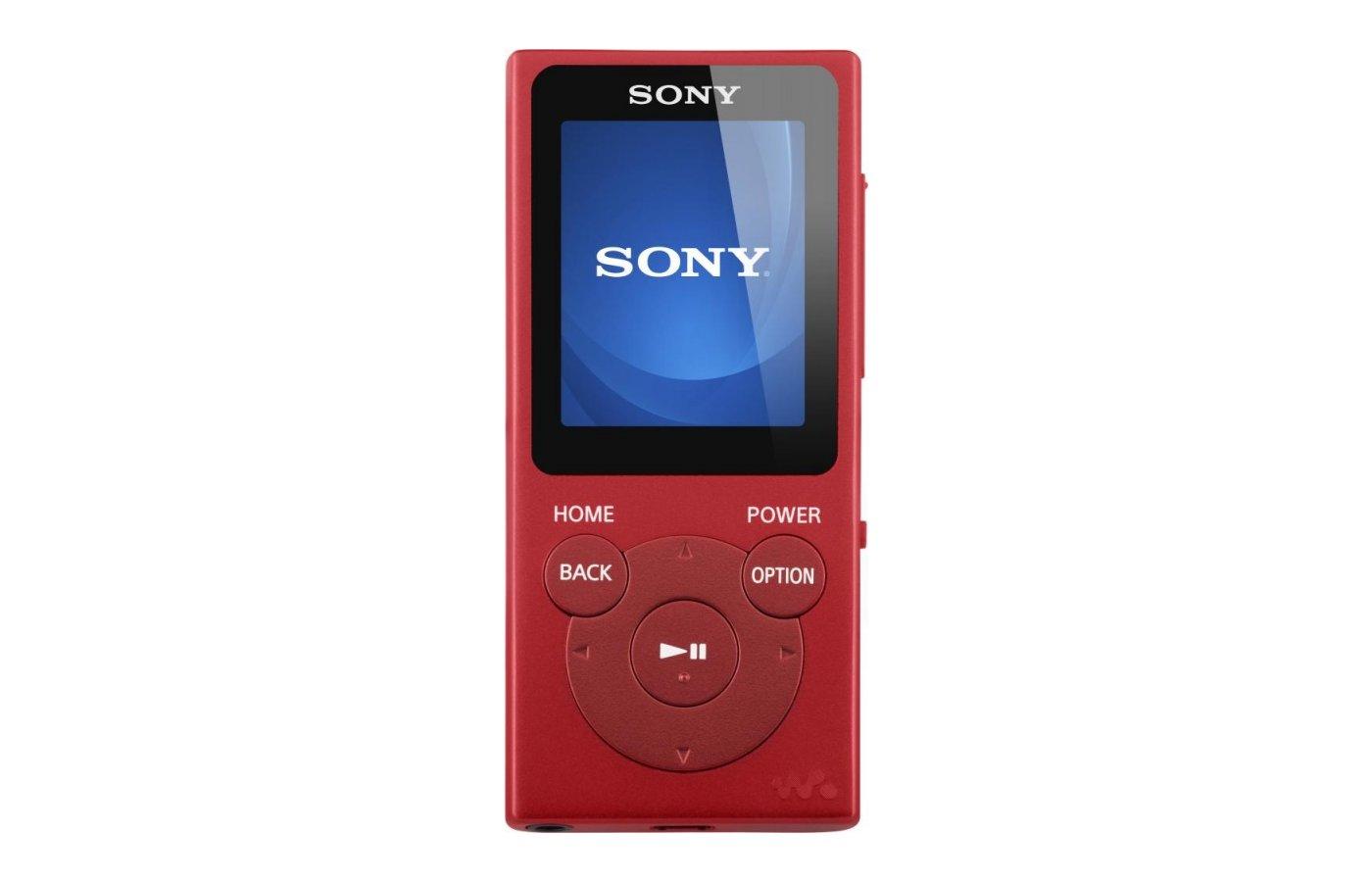МР3 плеер SONY NW-E394 красный