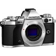 Фото Фотоаппарат со сменной оптикой OLYMPUS OM-D E-M5 Mark II Kit (E-M5 Mark II Body silver + EZ-M1250 black )