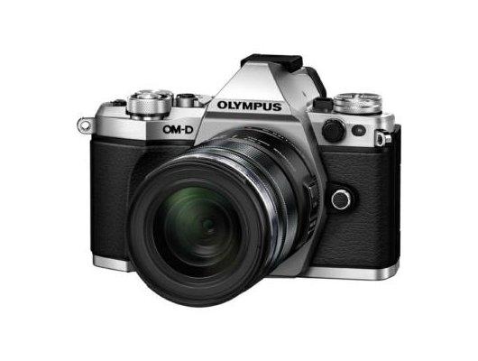 Фотоаппарат со сменной оптикой OLYMPUS OM-D E-M5 Mark II Kit (E-M5 Mark II Body silver + EZ-M1250 black )