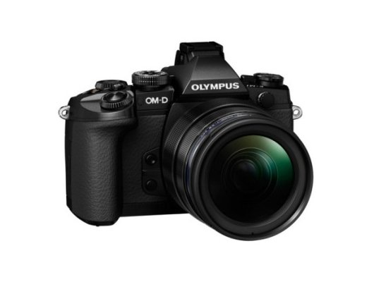 Фотоаппарат со сменной оптикой OLYMPUS OM-D E-M5 Mark II Kit (E-M5 Mark II Body black + EZ-M1240 black )