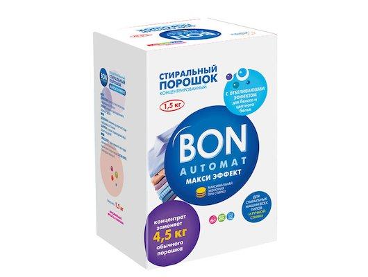 Средства для стирки и от накипи BON BN-138 Концентрированный стиральный порошок (Bon Automat СУПЕР Эффект COLOR С ПОДДЕРЖКОЙ ЦВЕТА